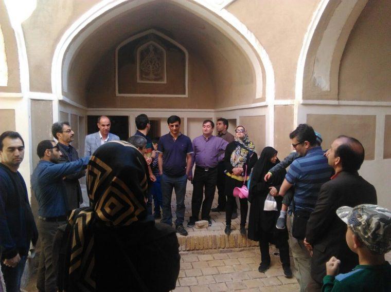 اولین بازدید از خانه چهار صفه پناهی بشرویه