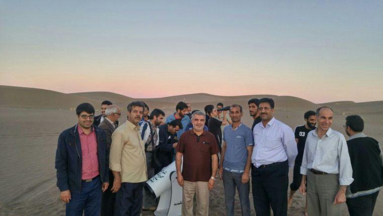 بازدید دامپزشکان استان خراسان جنوبی و متخصصین چشم و دندانپزشکی از کویر بشرویه